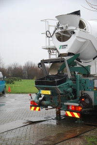 beton in recreatieruimte
