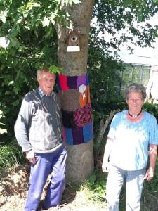 bij buurman aan de boom